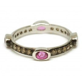 ROSSELLA UGOLINI STACKING RING PINK TOURMALINE
