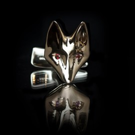 GUY & MAX ONE OFF FOX CUFFLINKS