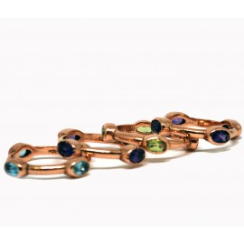 ROSSELLA UGOLINI STACKING RINGS 4 PIECES