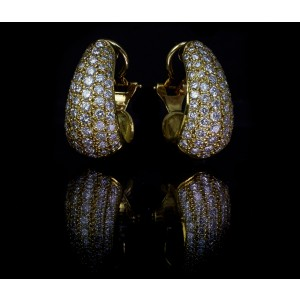 GUY AND MAX VINTAGE BOMBE EARRINGS